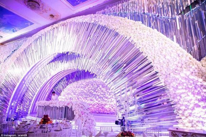 Elképesztő luxus az orosz milliárdos csemete világraszóló lagziján!