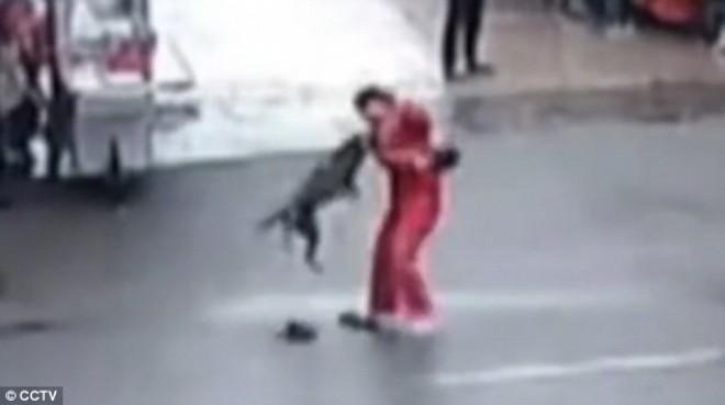 Sokkoló videó - egy megvadult kutya 2 órás ámokfutása a kínai városban!