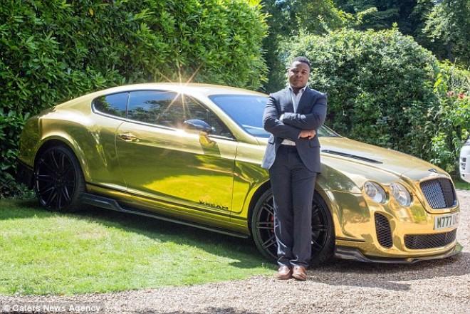 Sikersztori - 18 évesen arany Bentley-t vett magának a McDonalds-ban dolgozó srác