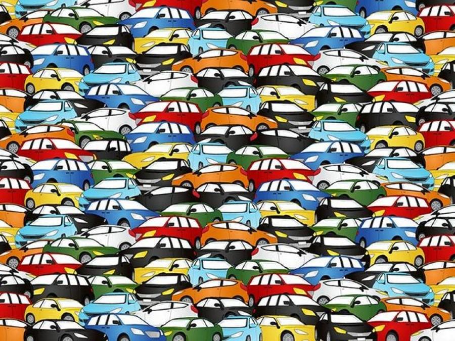 Te milyen gyorsan találod meg a londoni taxit az autók közt?