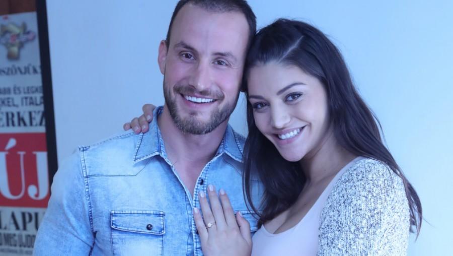 Kulcsár Edina ilyen gyönyörű volt a titkos esküvőjén!